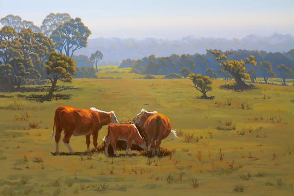 The Hay Bale - Original