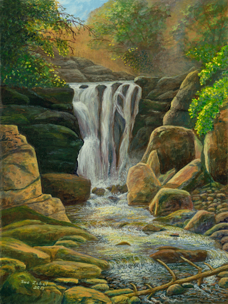 Roaring Water print by Sue Zabel.