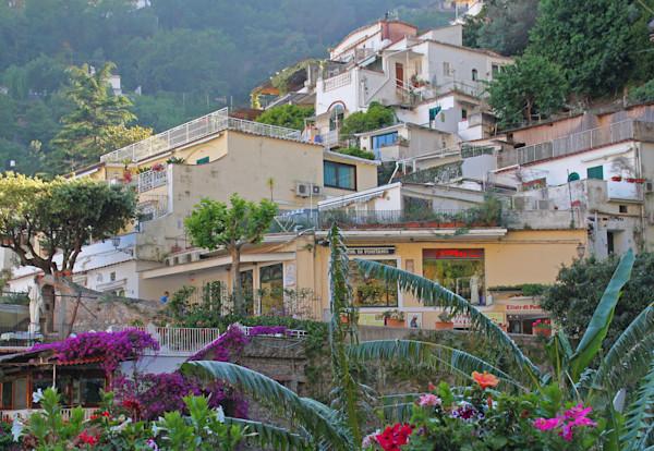 Capri Italy hillside