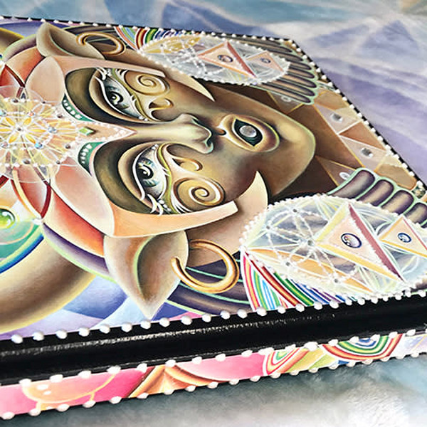 She Hath Ore - Custom Art Journal by Ishka Lha