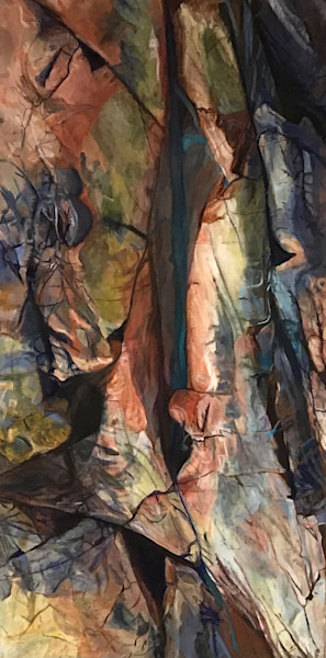 Killarney Crevice by Cathy Groulx | SavvyArt Market original oil painting