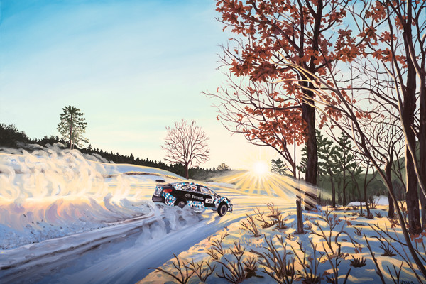 """Winter Rally"" Art for Sale"