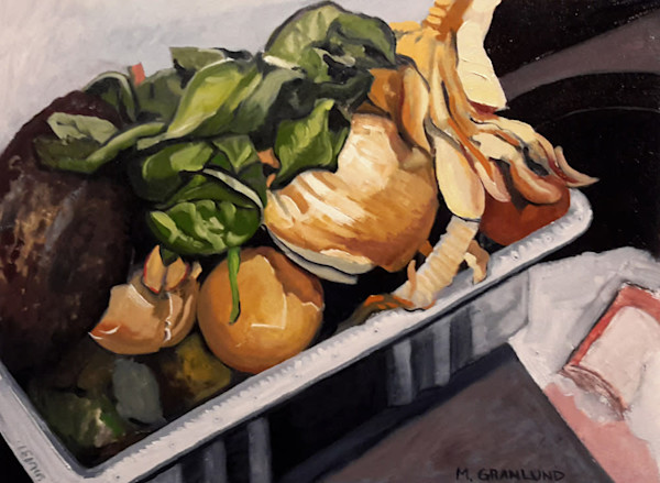 Sinkside Compost 6 Painting by Mark Granlund