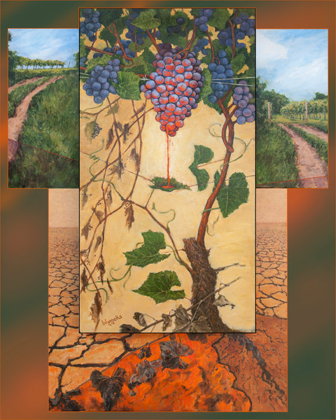 """The Vineyard"" by Bruce Weeks 