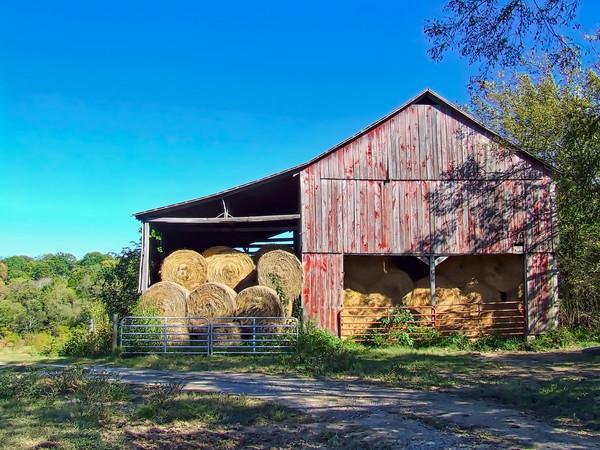 Tennessee Hay Barn