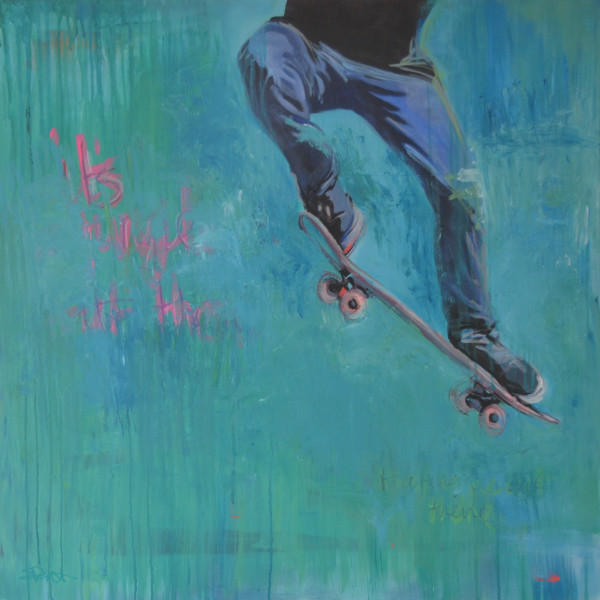 Skateboarding Fine Art Prints by Steph Fonteyn