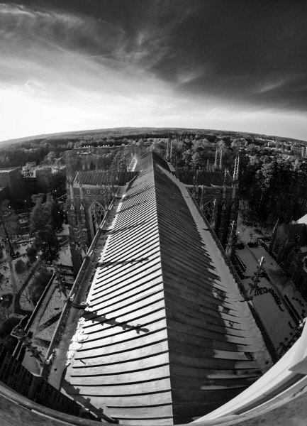 Duke Chapel: A Bird's Eye View 2