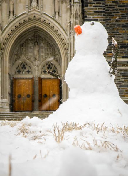 Chapel Snowman