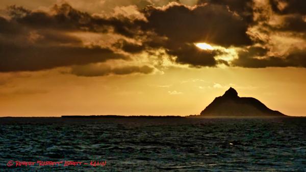 The Sun Winks over Moku Nui