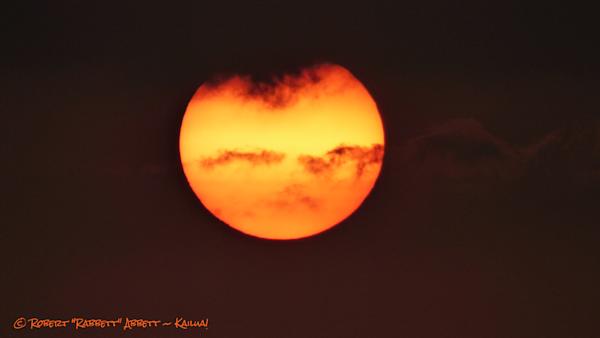 Sunrise photograph in Kailua Hawaii