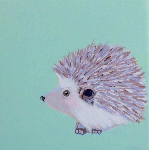 "MIDI Hedgehog  ""Bliss"" on Ocean Air MInt 6 x 6"