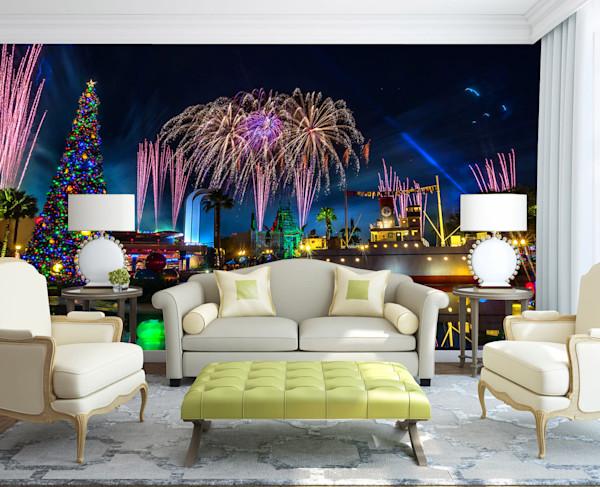 Jingle Bell Jingle BAM 8 - Disney World Wall Murals | William Drew