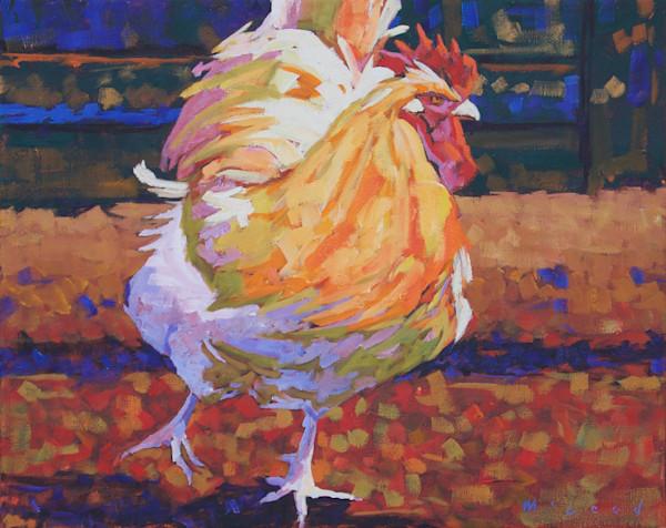 Boss Bird, giclee reproduction print from original oil painting by Matt McLeod.