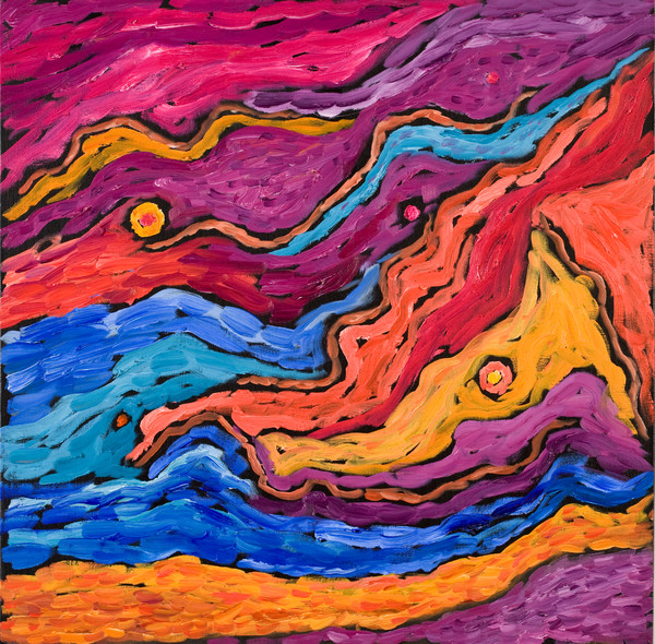 Art and paintings inspired by the motion of celestial bodies by Ed Belbruno - Art Prints on Canvas, Paper, Metal & More