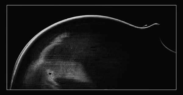 Antique Violin  Image in Dark Swpia 1732.28