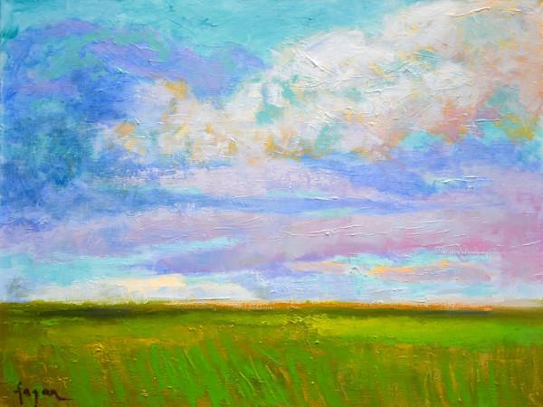 April Morning, Original Oil Painting