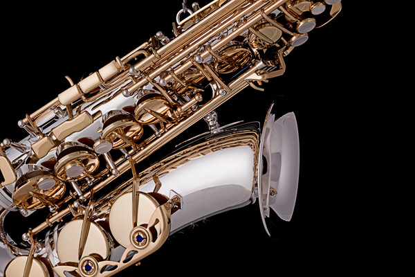 Saxophone Isolated Black