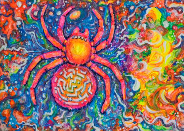 Spirit Spider painting