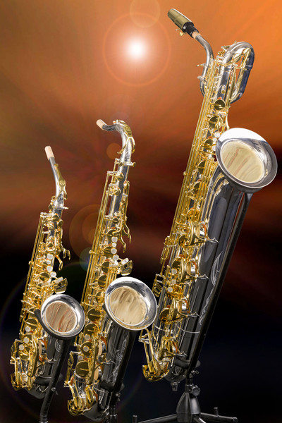 Saxophones Image in Color3461.02