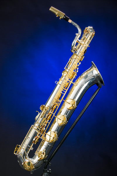 Baritone Saxophone Photograph in Color 3463.02