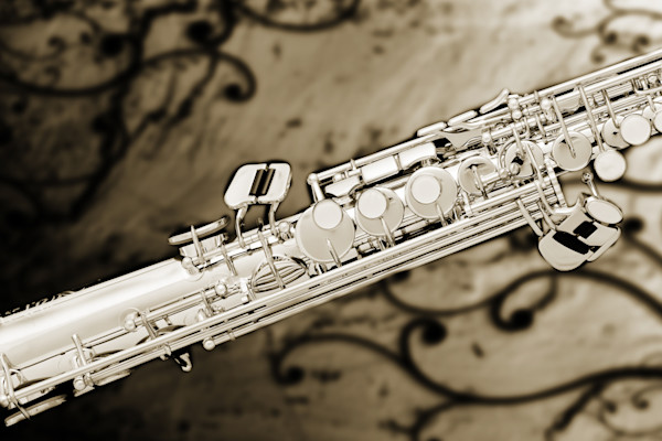 Art Prints Classic Soprano Saxophone 3349.01