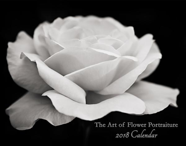 Flower Portraiture Art Calendar 2018