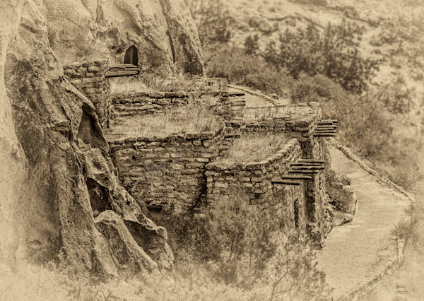 Bandelier Adobe Structure, d'Ellis Photographic Art photographs, Elsa
