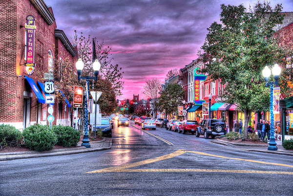 Art Photographs of Franklin Tennessee Landmarks