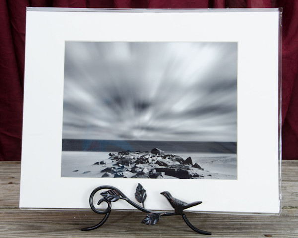 Windy Beach Ready to Frame