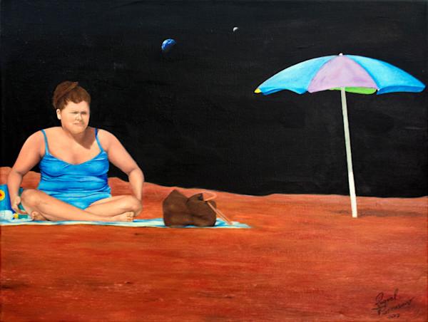 Shop Raquel Fornasaro Sunbathing Contemporary Original Fine Art Oil Portrait on Canvas