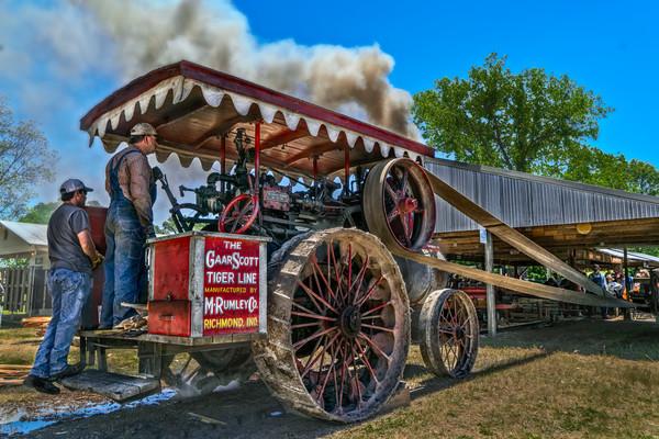 Steam Tractor, Vintage Farm Art Photographs, Hundreds Available fleblanc