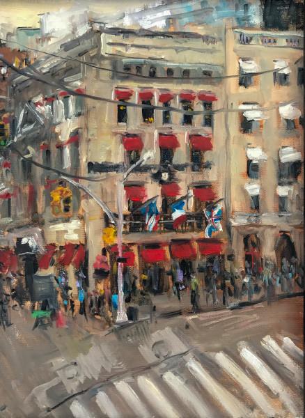 Street Corner in Manhattan