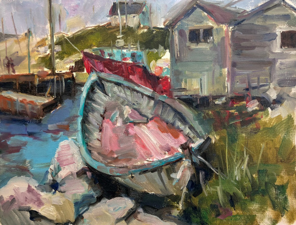 Nantucket Boat Dock by Michele Catapano