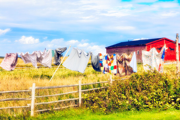 Four Sheets to the Wind - Newfoundland Clothesline