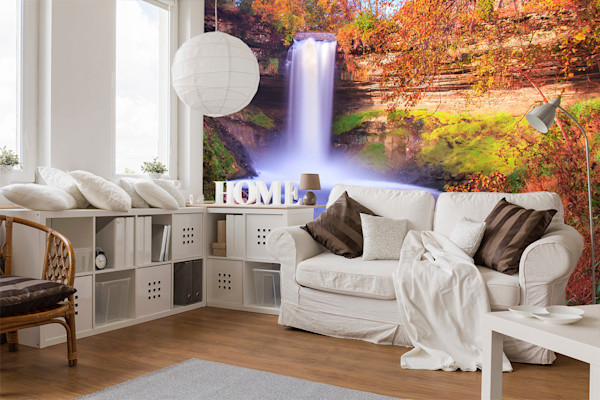 Minnehaha Autumn 1 - Minneapolis Wall Murals | William Drew Photography