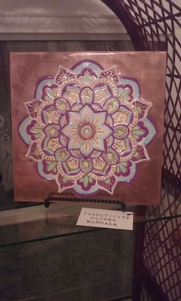 Tranquility Flower Mandala