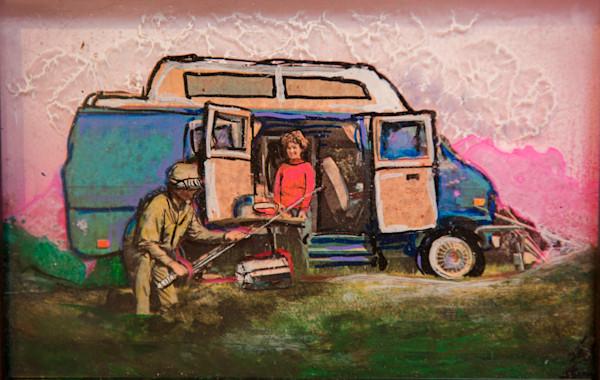 Fishing Van