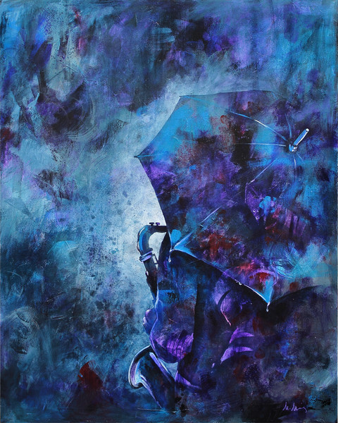 Fascinating Rhythm | Paintings inspired by jazz music and dance