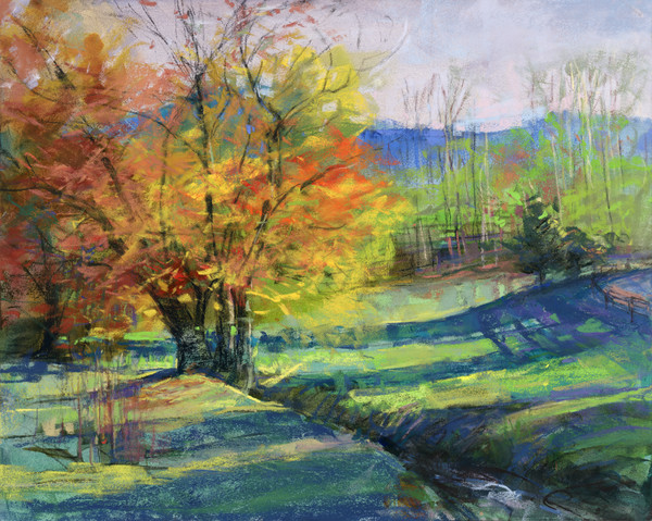Blue Ridge Mountains Pastels