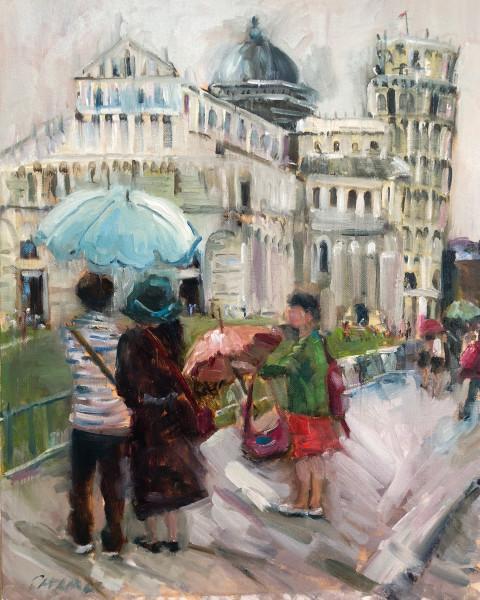 Umbrellas in Pisa
