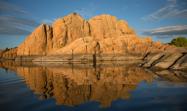 Watson Lake Reflection