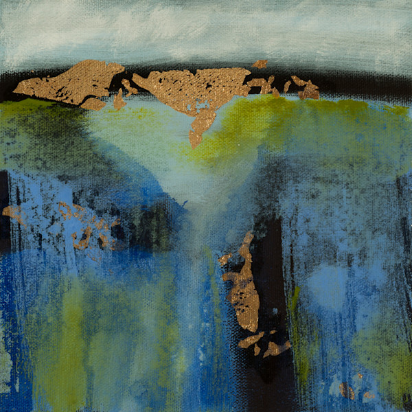 Once Pangaea original abstract landscape by Jana Kappeler.