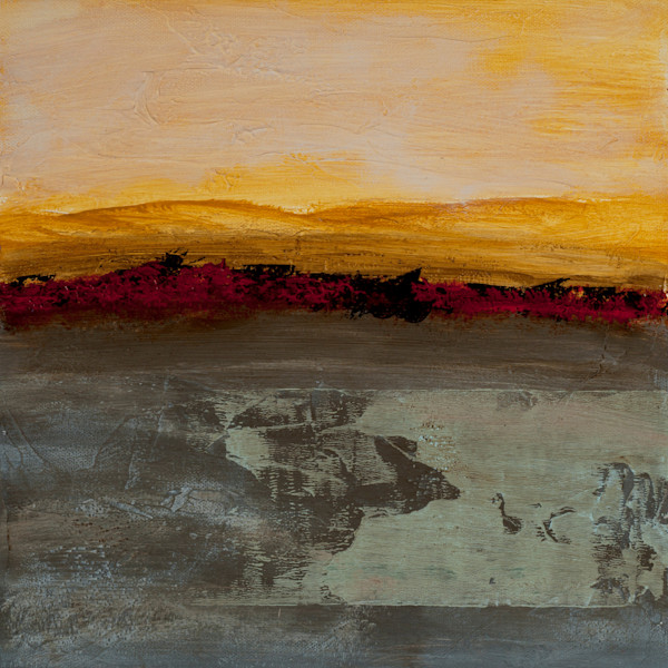 Sun Salutation is a contemporary abstract painting by acrylics/mixed media artist Jana Kappeler.