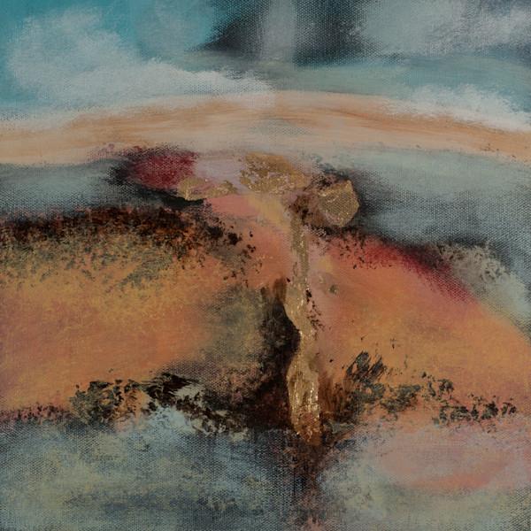 Comet's Path original abstract art by the artist Jana Kappeler.