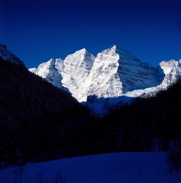 COL-4455 • Maroon Bells Colorado in Winter