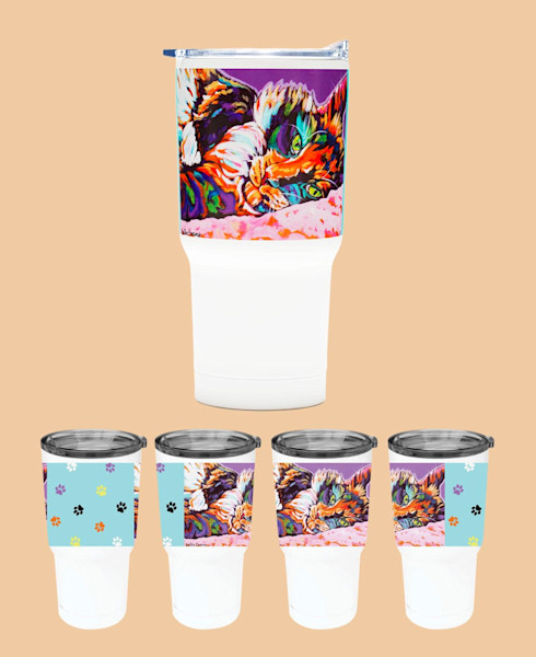 Calico Dreams Tumbler