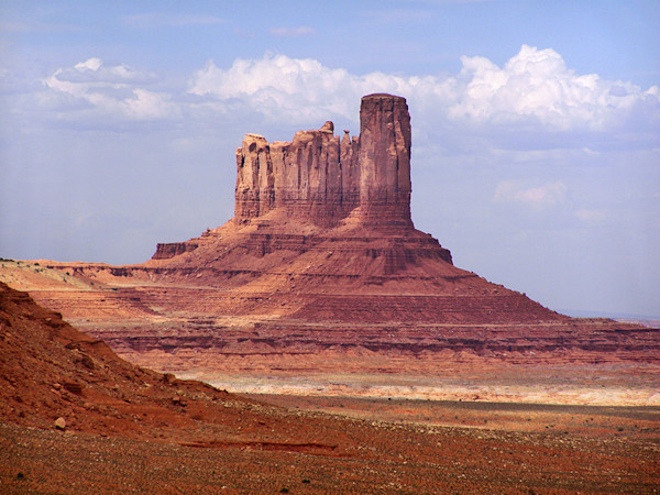 Big Indian Butte in Monument Valley