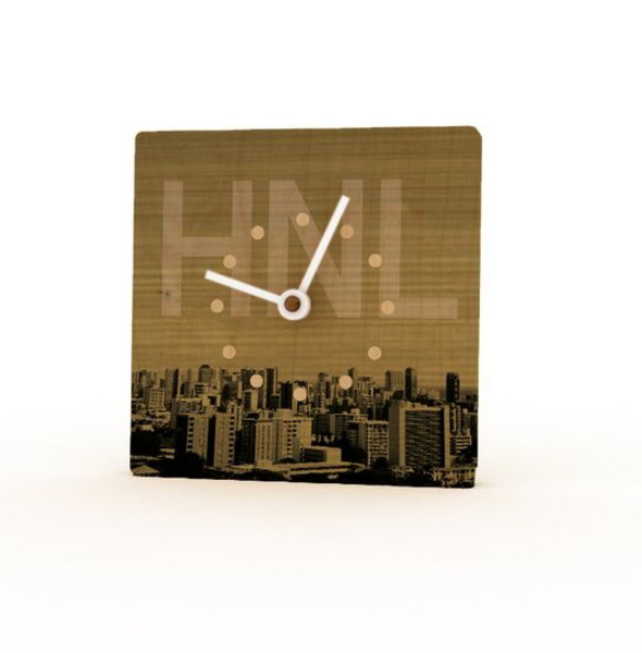 HNL Birchwood Mini Clock