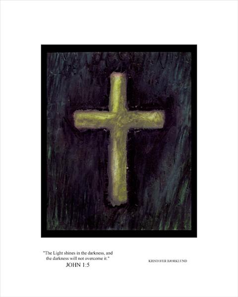 John 1:5 fine art print by Kristofer Bjorklund.