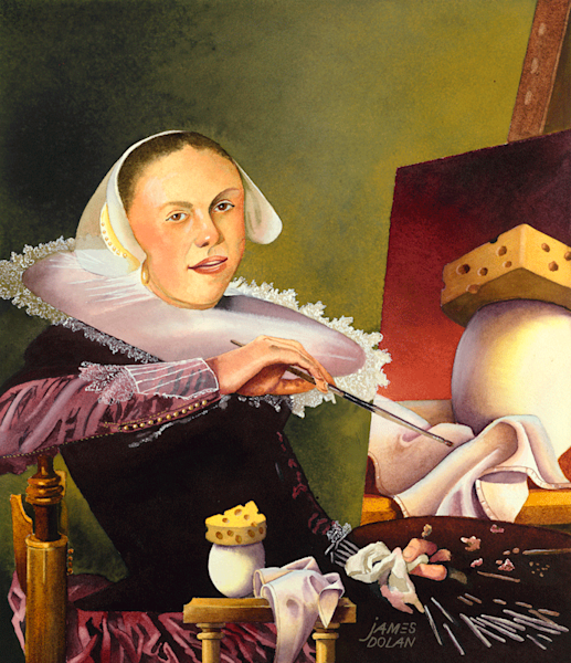 Early Cheesehead fine art print by Jim Dolan.